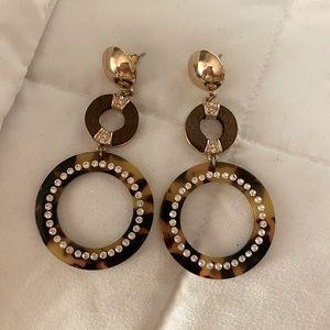 ALDO Gworedia Drop Earrings - Brown
